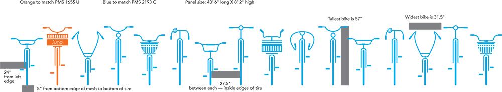 400 Dexter Bike Cage Wrap